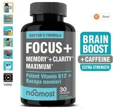BRAIN FOCUS SUPER MEMORY BOOSTER NOOTROPIC SUPPLEMENT FOR PERFORMANCE