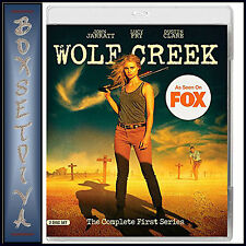 WOLF CREEK  - COMPLETE SERIES 1 - FIRST SERIES **BRAND NEW BLURAY**