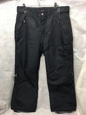ORAGE Air Project ENTRANT Men's Snowboard Pants Men's Size Large Black Nylon