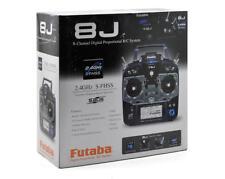 Futaba 8J 8JH 8ch FHSS S-FHSS RC Helicopter Remote Control Radio System FUTK8101