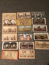Stereoview Card Lot Of 17 Christian Jesus Religious Bible Scenes Free Shipping