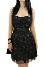 Sourpuss Tangled Web Dress gothic punk spider SIZE S