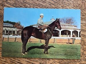 Horse Racing Postcard - 'Kelso' Horse Of The Year 1960 And 61