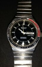 Bulova AUTOMATICl 666 Feet 1979  Vintage Diver WATCH IN EXCELLENT CONDITION