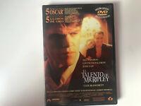 EL TALENTO DE MR RIPLEY DVD MATT DAMON GWYNETH PALTROW JUDE LAW CATE BLANCHET