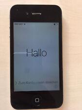 Apple iPhone 4 - 16GB - Schwarz - Ohne Simlock - Model: A1332 (GSM) * gebraucht