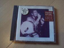 CD  MARK EITZEL songs of love live
