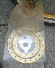 Raleigh mk1 Super Burner Chain Ring And Chrome Guard gold NOS