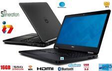 """DELL LATITUDE E7450- i7 5TH GEN-SUPER FAST 16GB RAM+256 SSD+14"""" -Graphics 5500"""