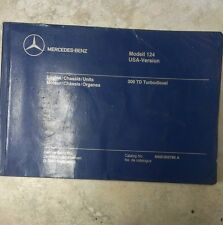 Mercedes Benz Engine Chassis/Units 300 Turbo diesel