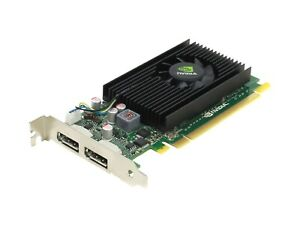 PNY NVidia NVS 310 1GB DP Dual Port PCIe X16 Video Graphics Card (Low Profile)