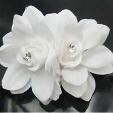 Fashion Flower Crystal Hair Pin Clip Pin Hairband Bridal Wedding Party for Women