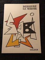 Derriere Le Miroir 141 November 1963 Alexander Calder Maeght Editeur Complete