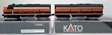 N Scale KATO F7 A&B 'Great Northern' Both Powered DCC Ready Item #106-0420