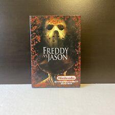 Freddy Vs. Jason - Nes - Fan Game - With Box & Sleeve