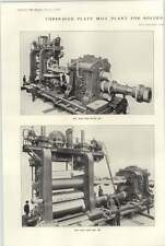1921 Bolckow Vaughan Plate Mill Plant
