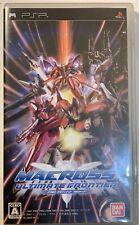 Macross Ultimate Frontier Sony PSP Game (Japanese Version)