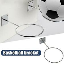 Ball Holder Mounted Wall Holder Rack Display for Football Basketball Rugby Socce
