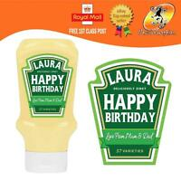 PERSONALISED SPOOF SALAD CREAM BOTTLE LABEL BIRTHDAY ANY OCCASION GIFT