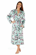 Floral Polyester Robes Machine Washable Sleepwear for Women