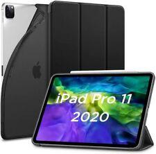 """ESR Rebound Slim Smart Case Cover for iPad Pro 11"""" 2018 and 2020 Jelly Black"""