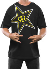 Rockstar Energy Drink MX X-Ray Tee SHirt T Short Sleeve Black Medium