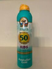 Australian Gold Continuous Spray Spf 50 Sunscreen Kids 6Oz New