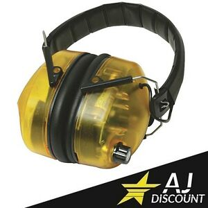 Casque anti-bruit électronique réglable SNR 30 dB - Chantier - Protection