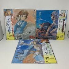 Studio Ghibli Nausicaa Of The Valley Vinyl Bundle Soundtrack / Image / Symphony