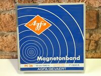 1 x Brand New AGFA PE 36, 7in 1/4in Wide Reel To Reel Recording Mastering Tape