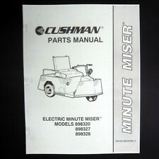 MANUAL - Vintage Parts Electric Minute Miser -- CUSHMAN