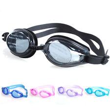 Fashion Swim Glasses Anti Fog UV Protection Swimming Goggles + Ear Plug Set