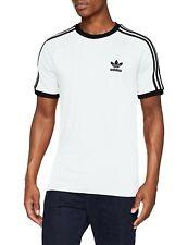adidas 3 Stripes Tee T-shirt Size XL White/black