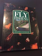 Book, Fly Fishing By Stephen Windsor, Large Hardcover Book BS2