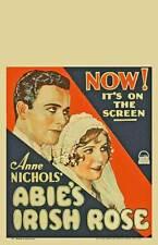ABIE'S IRISH ROSE Movie POSTER 11x17