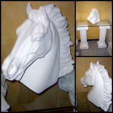 tete cheval H:38cm en staff( platre armé)article neuf