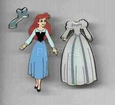 DISNEY PIN ARIEL WEDDING AND BLUE DRESS MAGNET IN PKG RARE WDW