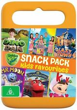 Snack Pack Compilation: Dino Dan / Hi-5 / LazyTown /  Mr Moon / Chugging DVD NEW