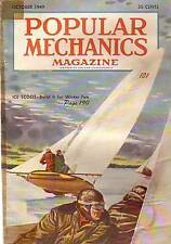 1949 Popular Mechanics October-Bowling,Diving,Aquaplane
