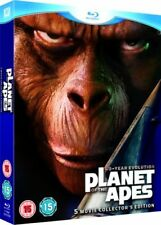 Planet Of The Apes 5 Movie Collection (Blu-ray Box Set) New & Sealed + Slipcase