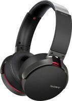 Sony MDR-XB950B1/B Extra Bass Wireless Headphones with App Control, Black