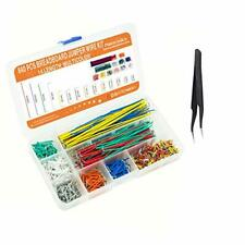 Makeronics 840 Pieces Jumper Wire Kit With 14 Lengths For Breadboard Prototyp