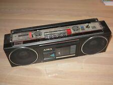 AIWA STEREO 210 CS-210Z KASSETTENREKORDER RADIO GHETTOBLASTER VINTAGE