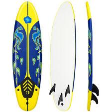 Goplus 6' Surfboard Surf Foamie Boards Surfing Beach Ocean Body Boarding Yellow