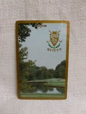 Scioto Country Club Golf Bag Tag PGA USGA US Open Ryder Cup