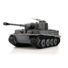 1:16 Torro German Tiger I Late V. RC Tank Airsoft 2.4GHz Hobby Edition Grey