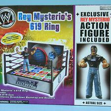 Rey Mysterio 619 Ring - WWE Jakks Vintage Wrestling WWF WCW Exclusive Figure RA