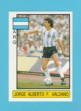 FOOTBALL - PANINI - SUPERSPORT STICKER NO. 85  -  VALDANO  OF  ARGENTINA  - 1987