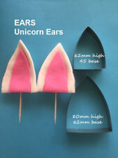 Unicorn Ears icing cutters -  Cake Decorating Sugar Flower Gum Paste Tools