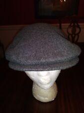 L. L. Bean Cabbie Newsboy Cap in Gray 100% Pure Wool Size Medium NEW